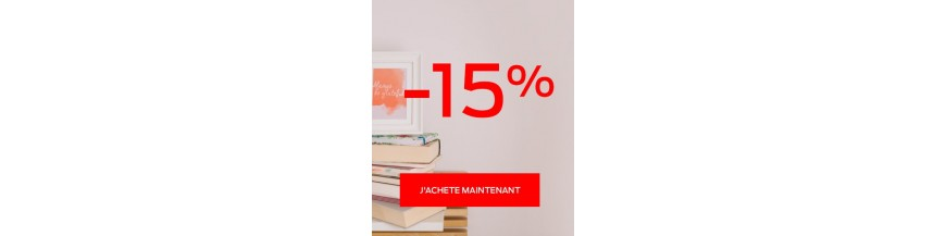 Soldes 15%