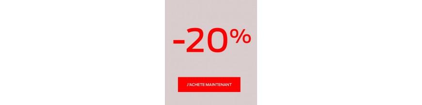 Soldes 20%